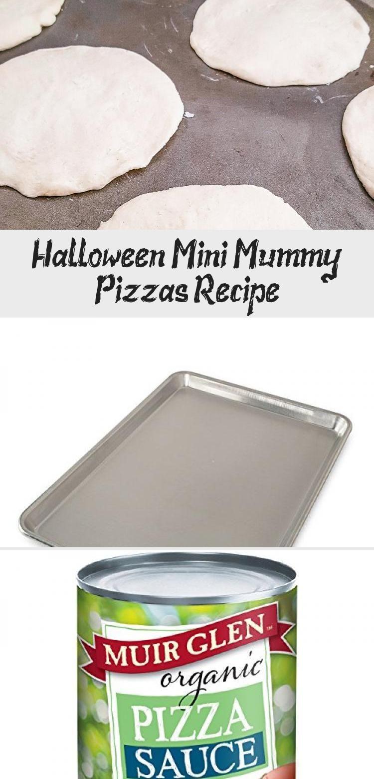 Mini Mummy Pizzas Recipe Mini Mummy Pizzas for Halloween Dinner  Easy Meal IdeaMini Mummy Pizzas for Halloween Dinner  Easy Meal Idea