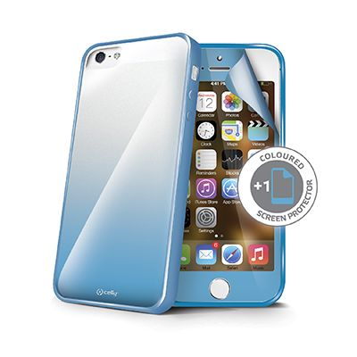 cover iphone 5 azzurra