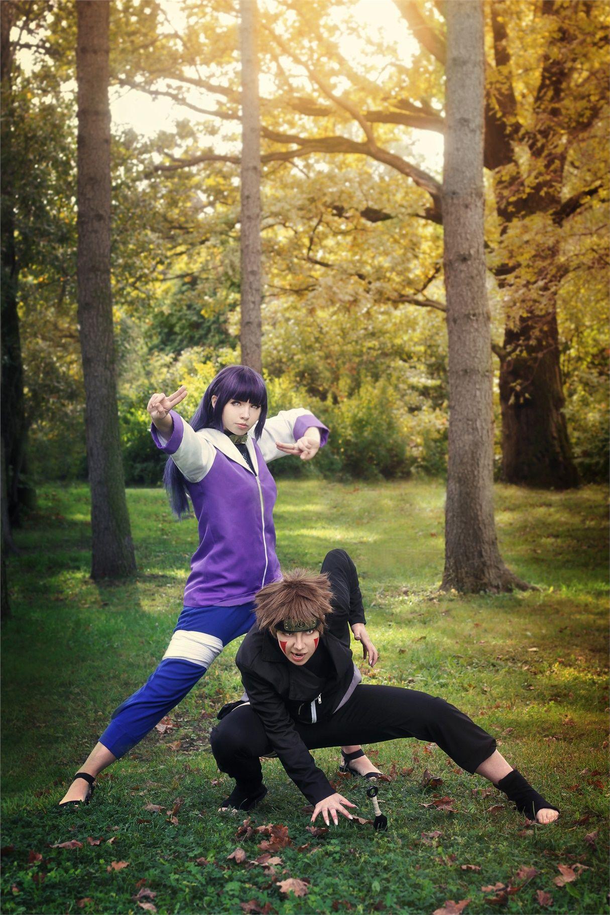 Hinata and Kiba - Milena(Milena Amane) Hinata Hyuga Cosplay Photo