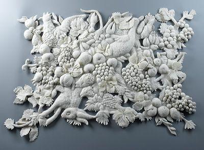 Masterpieces of wool by Lithuanian artists Eglė Ganda Bogdanienė, Miglė Lebednykaitė, Laura Pavilonytė  VELTI SODAI 2003-2006