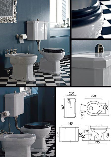 Leo Classic Traditional Toilet And Cistern 23j Traditional Toilets Classic Toilets Cistern