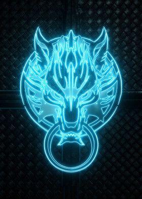 '3D Strife Emblem' Poster Print by Jose Barrera | Displate