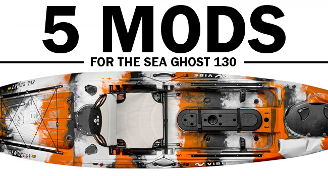 The Vibe Sea Ghost 130 is nicely equipped at its price
