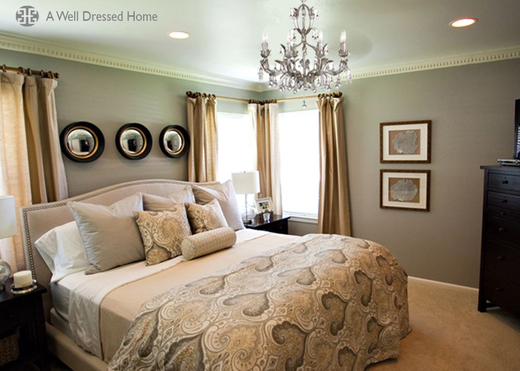 Master Bedroom Makeover by Emily Hewett of A Well Dressed Home  http://awelldressedhome.com/before-after-master-bedroom-makeover-reveal/
