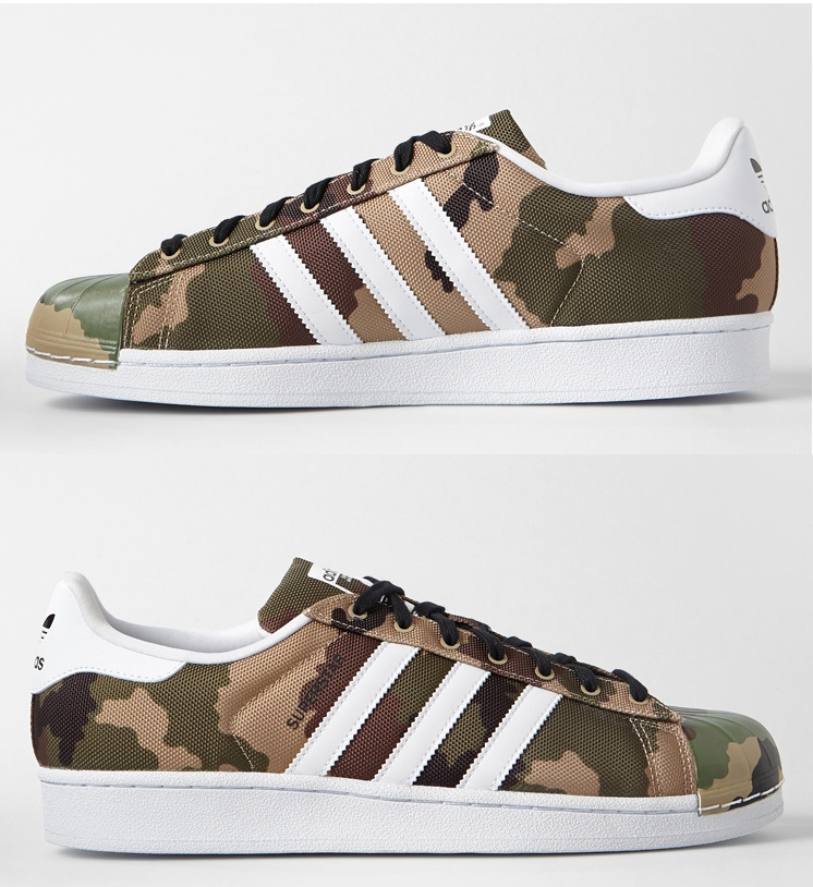 ADIDAS ORIGINALS SUPERSTAR SHELL TOE CAMO S75183