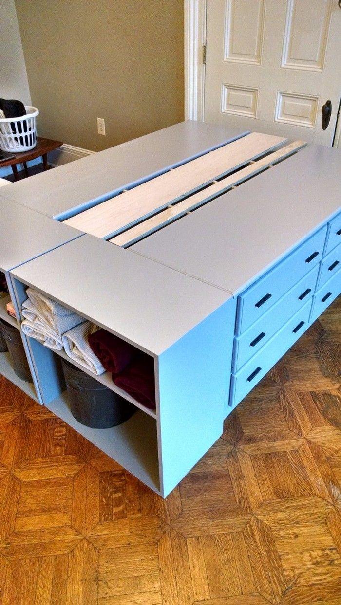 How to build a dresser platform bed from scratch | Platform beds ...