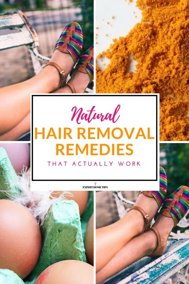 Rub this food on your legs to remove hair naturally (it REALLY works!) #hairremoval