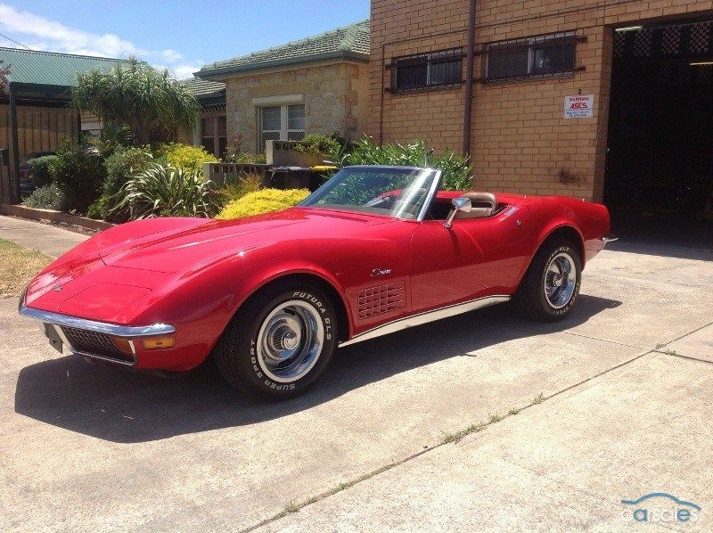 1972 Chevrolet Corvette C3 Stingray My1972 With Images
