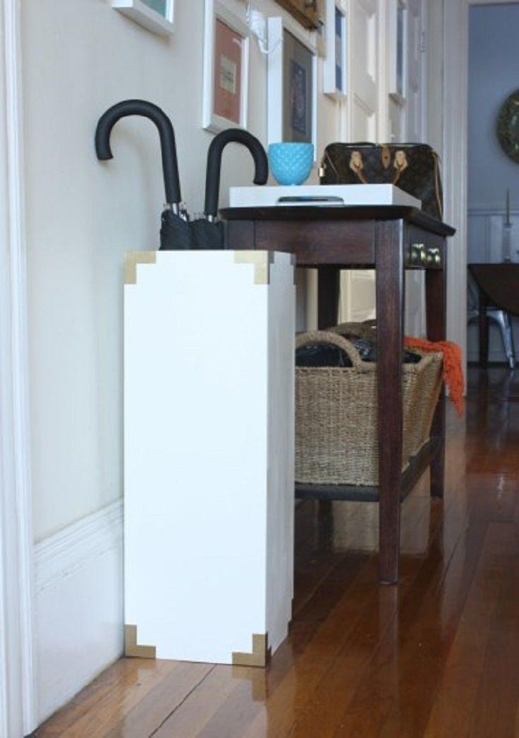 Top 10 Easy Diy Umbrella Stands Top Inspired Diy Home Furniture Umbrella Stand Creative Home Decor