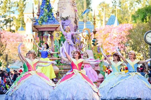 If you watch the parade, each section of performers have ...