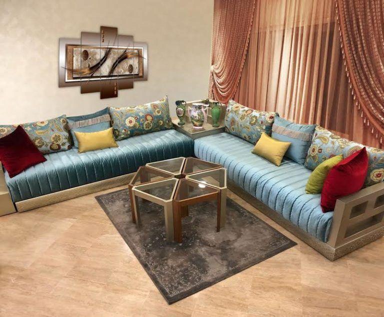 Galerie De Modeles De Salon Marocain Et Plus In 2019 Sofa Living