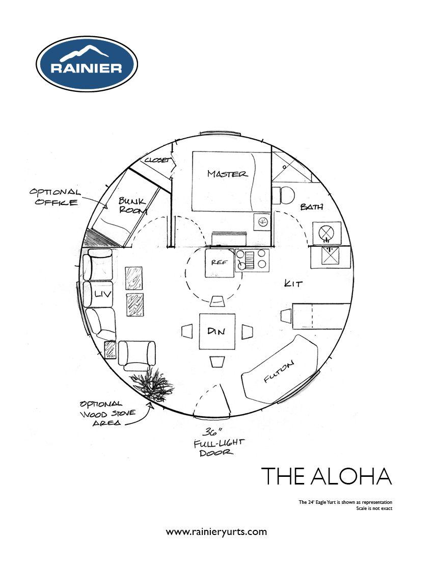 Yurt Floor Plans Rainier Yurts Yurt Floor Plans How To Plan