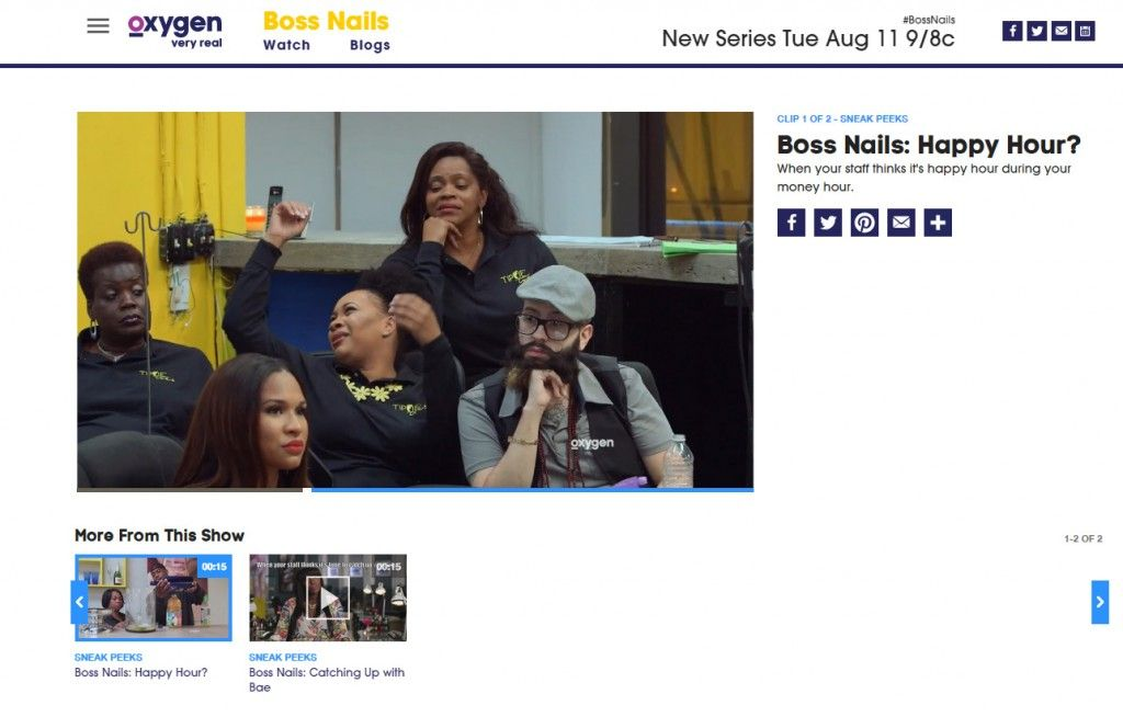 @nuni_nails is going to be on Oxygen channel in the new show BOSS NAILS! Go Nuni!!!!