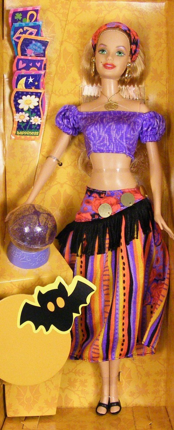 Amazon.com: Halloween Fortune Barbie Fortune Teller doll Target ...