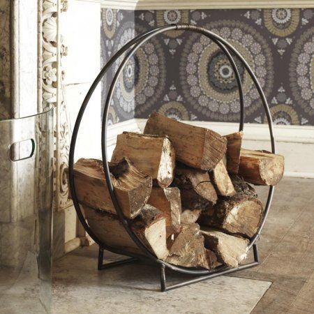Circle Log Holder Log Holder Firewood Holder Indoor Log Home