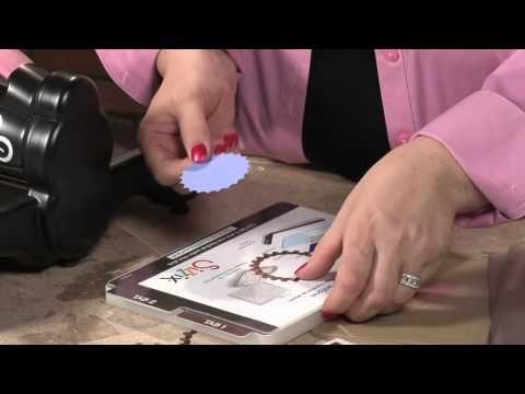 Finally Instructions I Can Understand Spellbinder Dies Using The Big Shot Machine Big Shot Card Making Videos Card Making Tutorials