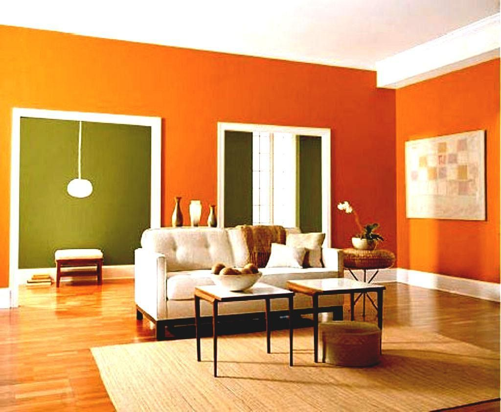 61 Best Painting Living Room Two Colors Design Living Room Orange Living Room Wall Color Living Room Colors