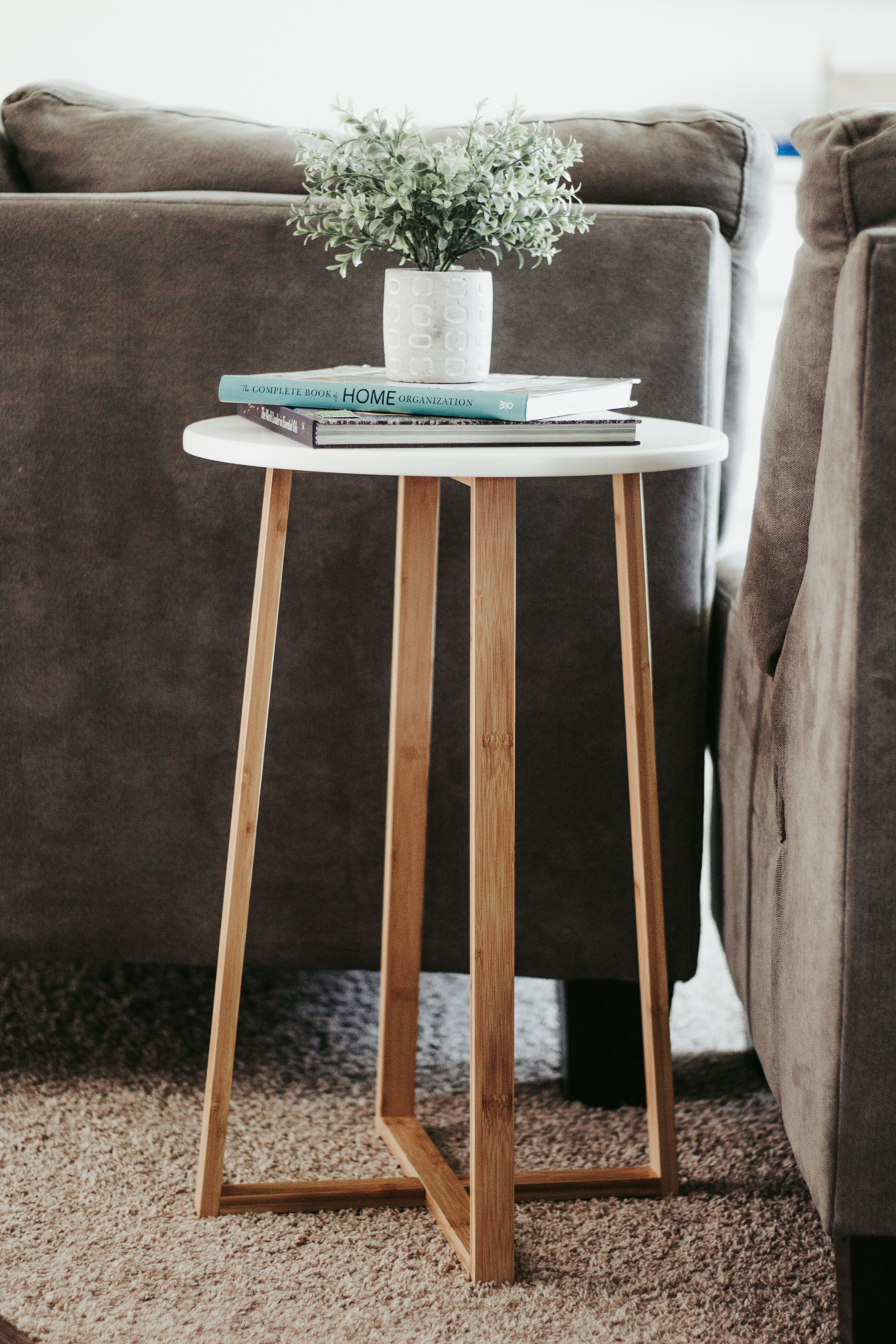Home Decor From Amazon That I Love In 2020 Table Decor Living Room Side Table Decor Living Room Side Table [ 5184 x 3456 Pixel ]
