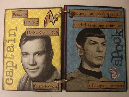 Check out this atc book on Star Trek.  It's pretty great.  I need to do this for Janeway and Chakotay...