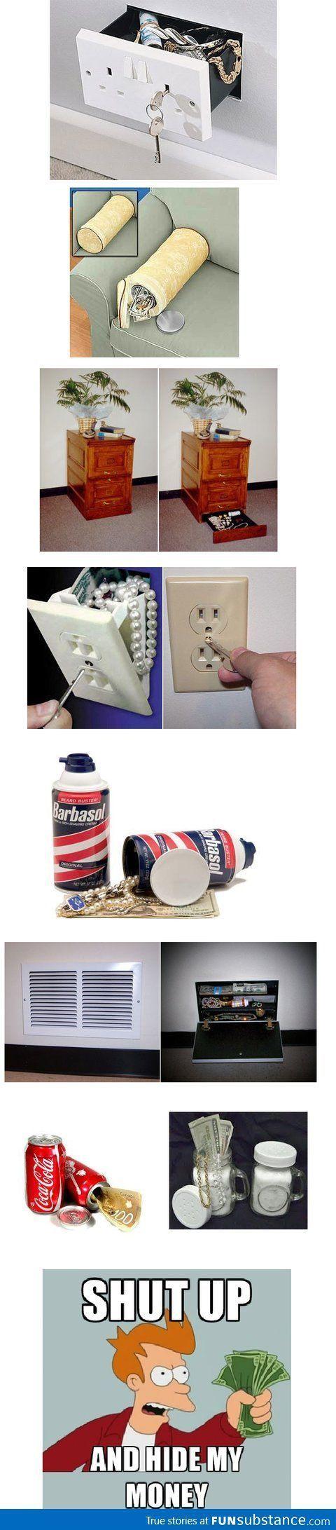 Secret Storage I Hidden Compartments