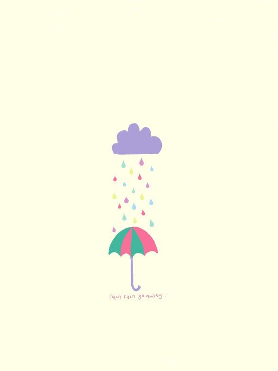 Rain+rain by IllustratingMummy