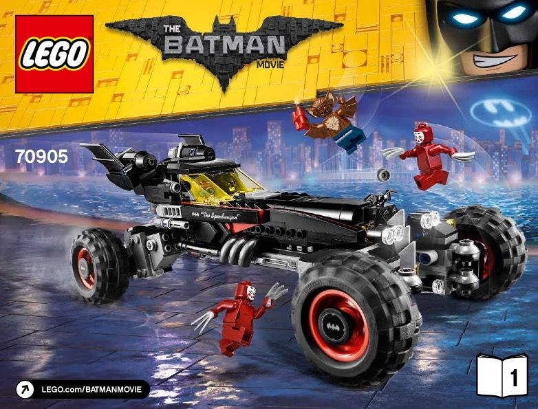 View Lego Instructions For The Batmobile Set Number 70905 To Help