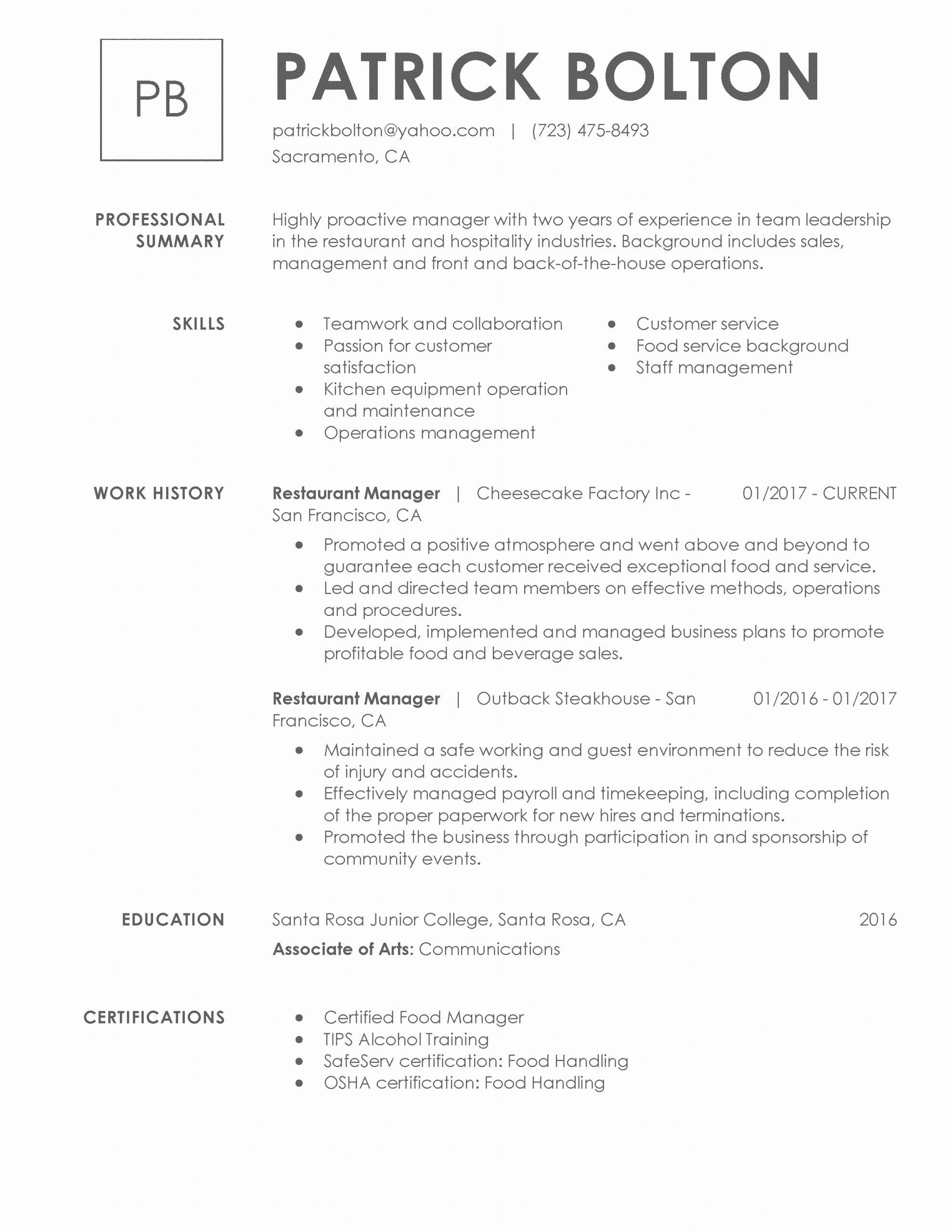 What Is A Resume Title