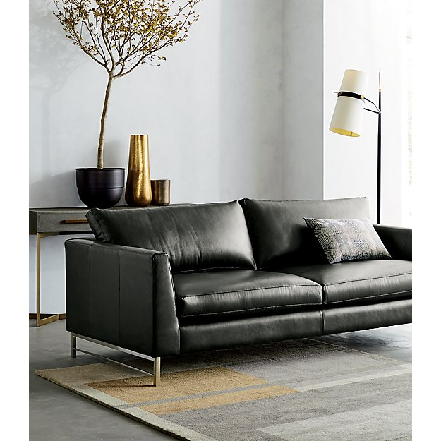 Riston Floor Lamp   Leather sofa, Deep seat cushions ... on Riston Floor Lamp  id=50249