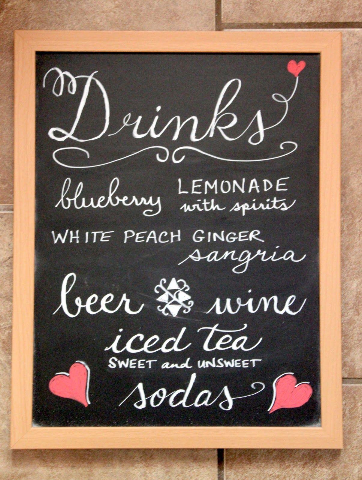 bar chalkboard sayings drinks menu small chalkboard for the