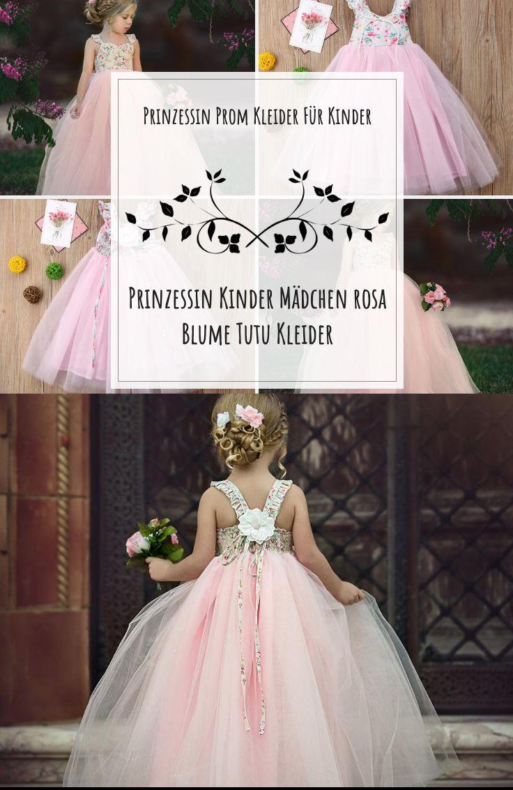 Tutu Hochzeit Prinzessin Prom Kleider Für Kinder Mädchen ...