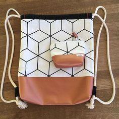 Coser bolsa de gimnasia – patrones e instrucciones de costura gratis – crearesa.de