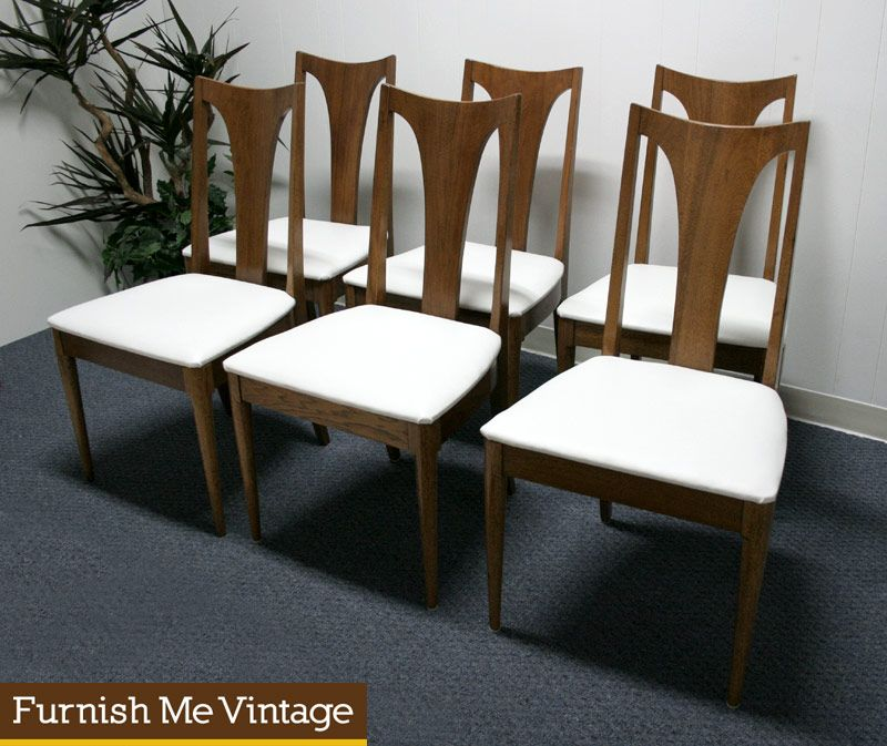 Miraculous 6 Broyhill Emphasis Vintage Mid Century Dining Chairs New Theyellowbook Wood Chair Design Ideas Theyellowbookinfo