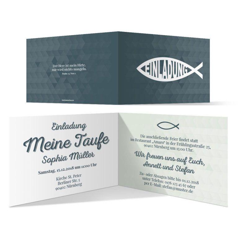 Taufkarten Einladung Einladung Karten Vorlagen Kostenlos