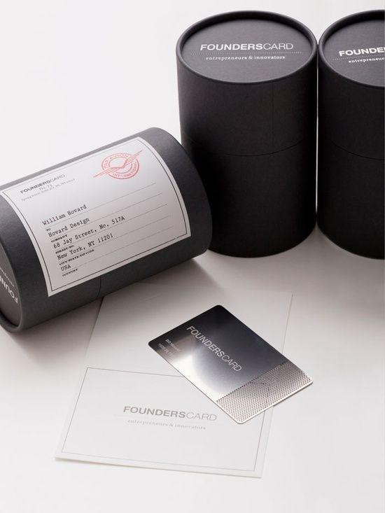Founderscard Membership Card Packaging In Membership  Graphic