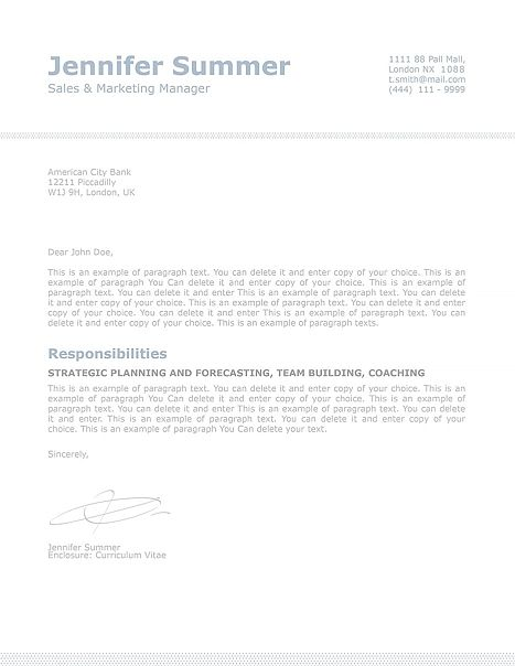 classic cover letter template 110730 choose from over 100 professionally designed resume templates in microsoft word and iwork pages fast and easy to use