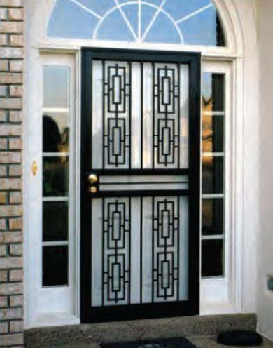 Steel Security Storm Doors By Homeguard R Security Storm Doors Doors Home Safety