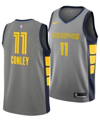 official photos 77b5d 8978f Nike Men's Mike Conley Jr. Memphis Grizzlies City Swingman ...