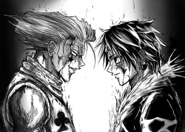 Hisoka Vs Chrollo Hisoka Kirua Et Hunter X Hunter