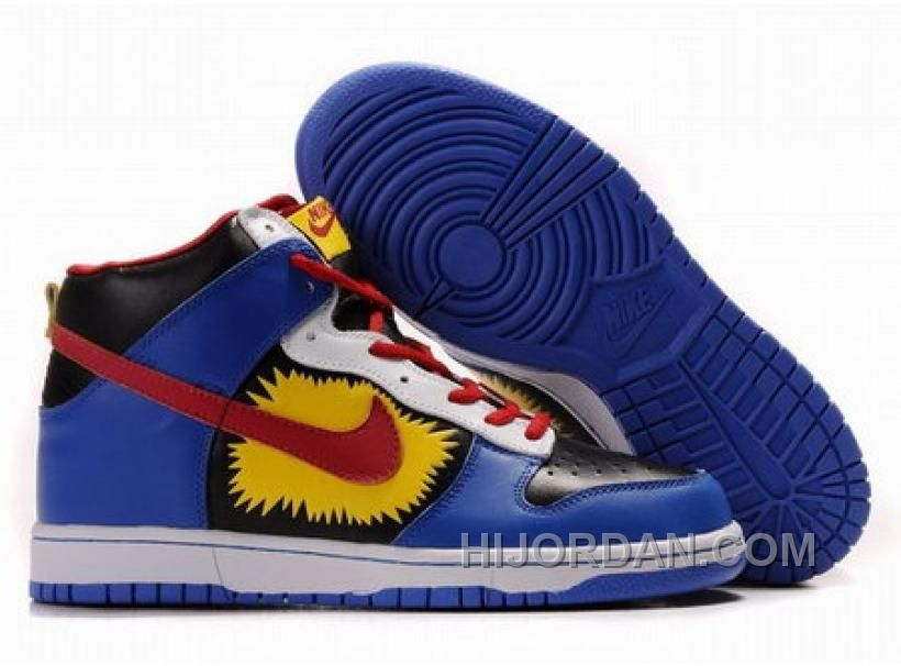Nike Dunk Jordan Chaussures  Bleu Noir | Notre Dame College