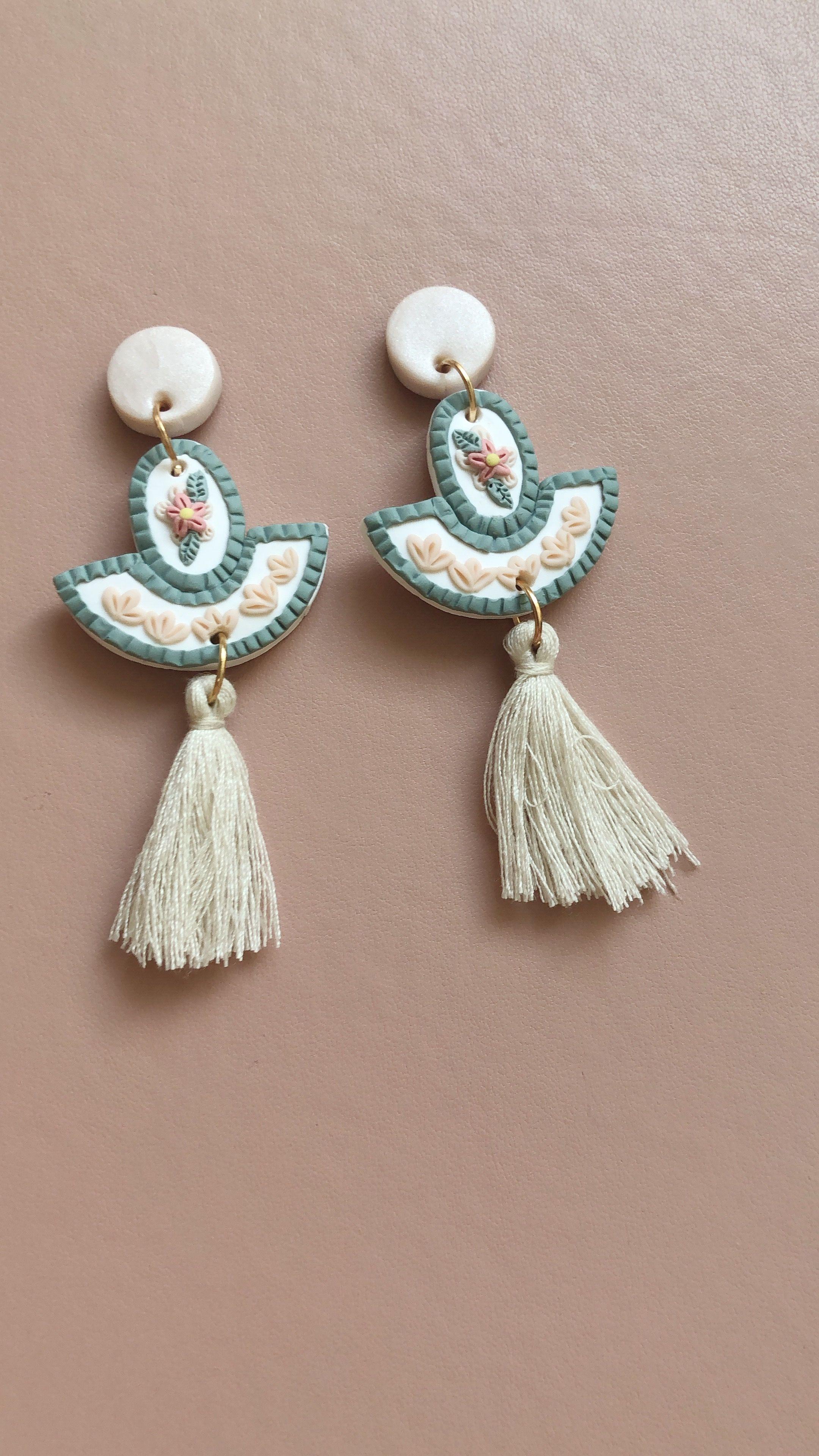 Memphis style Sterling silver chandelier earrings 3 Pairs of 1980s ear hanger vintage stud earrings in 925 Sterling