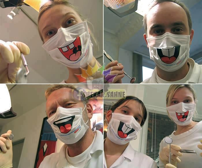 Dentist Office Funny Mask Nurse Halloween Costume Dentist