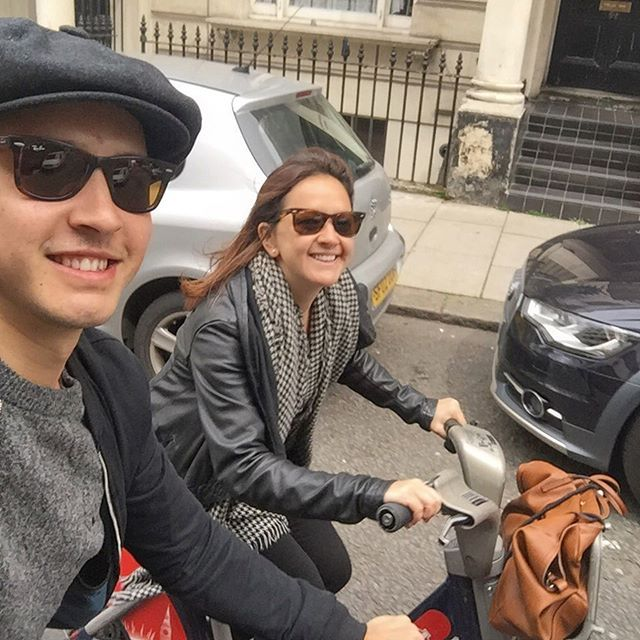 A day out cycling with my Sister on the #BorisBikes. This is such a great way to see London, all you need is a credit card to go explore London by yourself! There are 742 Docking stations and 11,500 bicycles! No excuses now people!!