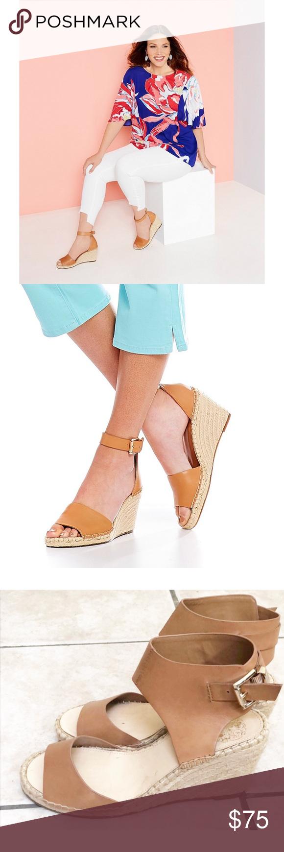✨ Ankle Strap Espadrille Wedge Sandals