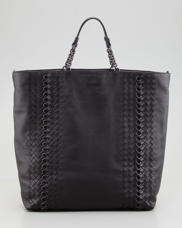 http://harrislove.com/bottega-veneta-napa-leather-circle-link-tote-bag-black-p-799.html