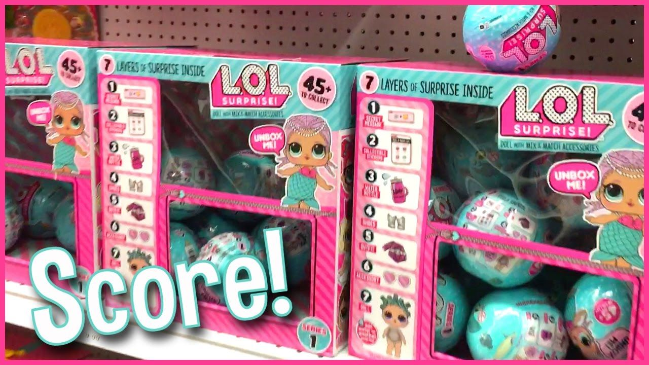 Toys For Girls Lol : Lol surprise wave doll score at toys r us
