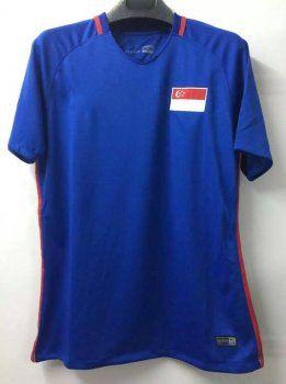 Singapore National Team 2017 Away Blue Soccer Jersey J404 Soccer Jersey Cheap Football Shirts Jersey Shirt