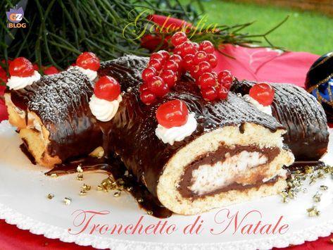 Tronchetto Di Natale Al Cioccolato Fondente.Tronchetto Di Natale Ricetta Golosissima Capodanno Ricette