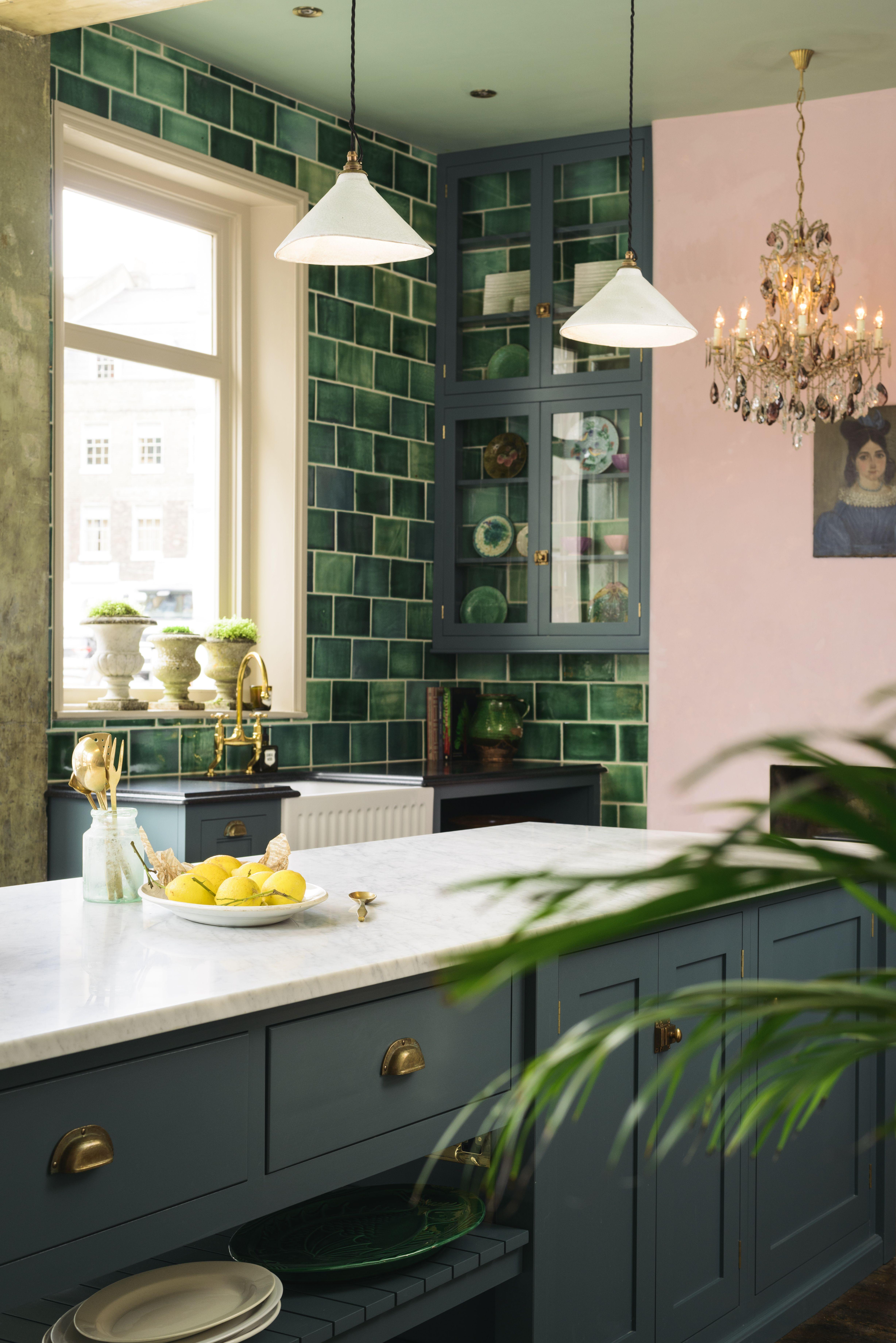 inspiring alcove ideas with images green kitchen decor interior design kitchen kitchen on kitchen interior green id=19122