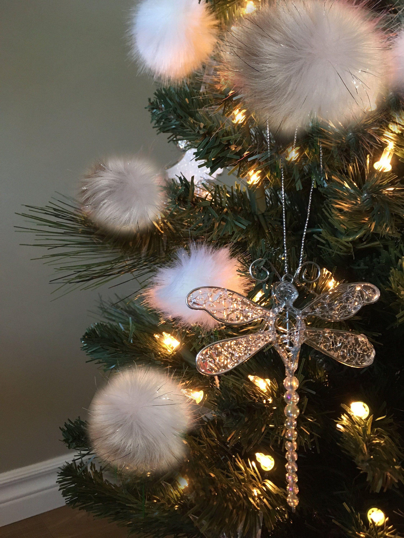 Christmas Ornaments Fur Tree Ornament Set Of Six Xmas Tree Etsy Holiday Decor Christmas Tree Fur Tree