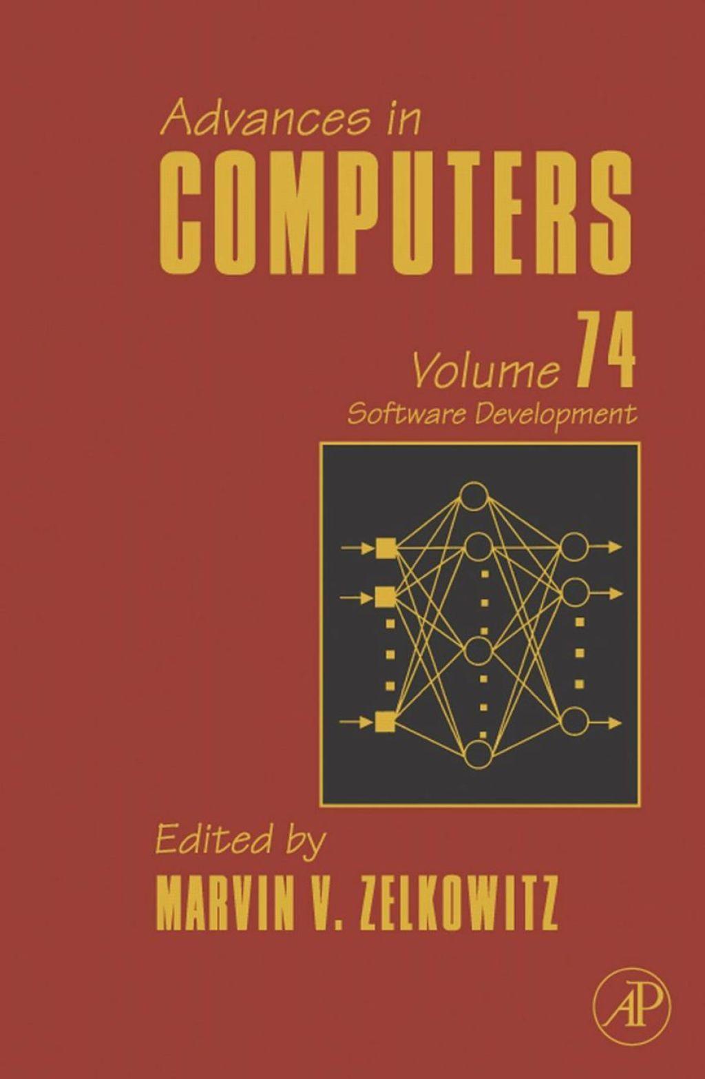 Advances in Computers Software Development (eBook